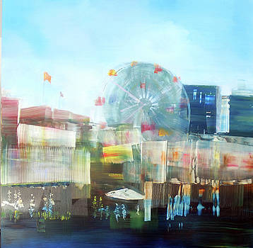 Coney Island Food Courts by Gail Ingis Claus