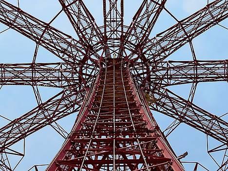 Coney Island Parachute Jump 01 by Jonathan Sabin