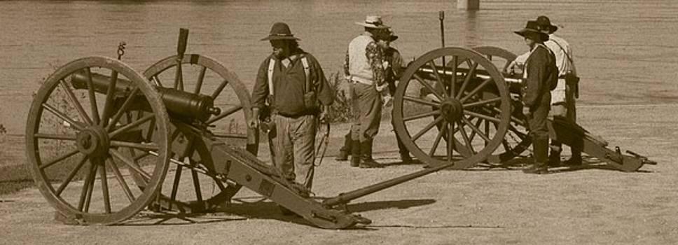 David Dunham - Confederate Batteries On The Missouri
