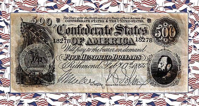 Confederate Money by Susan Leggett