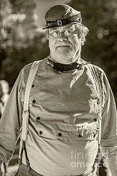 Confederate Reenactor 5083V_BW_S by Doug Berry