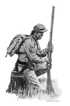 Confederate Soldier by William Hay