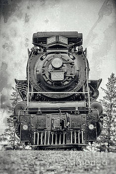 Confederation Steam Locomotive 6200 - View-2 by Robert McAlpine
