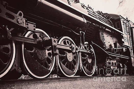 Confederation Steam Locomotive 6200 - View-3 by Robert McAlpine