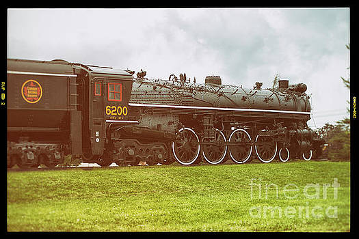 Confederation  Steam Locomotive 6200 - View-1 by Robert McAlpine