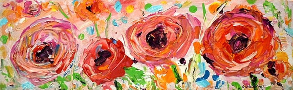 Confetti Poppies by Barbara Pirkle