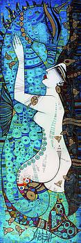 Confidences in blue by Albena Vatcheva