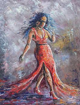 Confident gait by Anthony Mwangi
