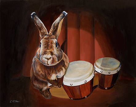 Conga Rabbit by Loretta McNair
