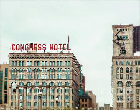 Congress Hotel Chicago by Sonja Quintero