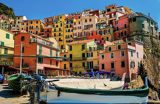 Coniglia Cinque Terre Italy by Xavier Cardell