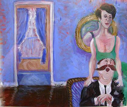 Conjugal Pose by Barbara Yalof