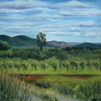 Conklin Orchards II by Jane  Simonson