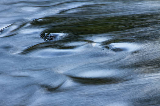 Connecticut Housatonic River Abstract by Skyelyte Photography by Linda Rasch