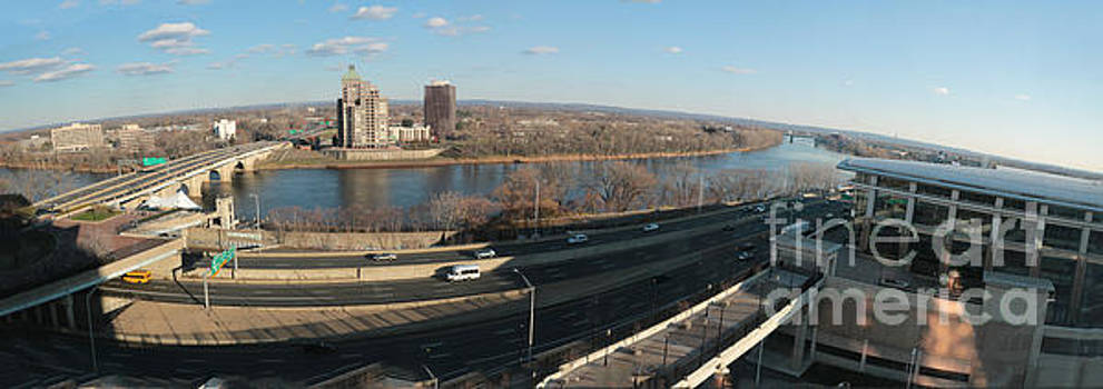 Connecticut River Panorma by Thomas Marchessault
