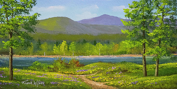 Connecticut River Spring by Frank Wilson