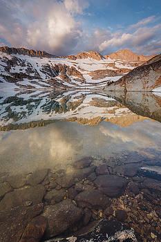 Conness Lake Dawn by Jeff Sullivan