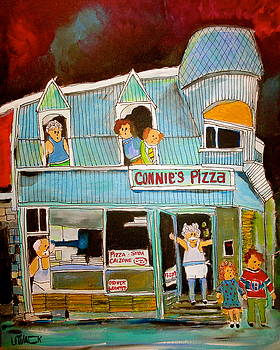 Pizza in the Pointe by Michael Litvack
