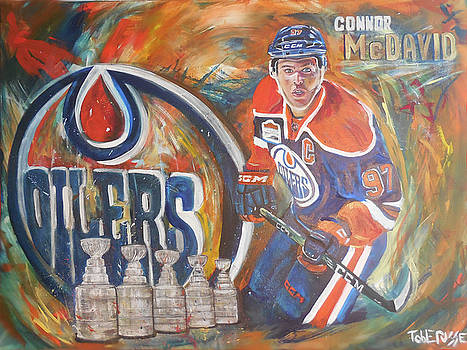 Connor McDavid - 5 Cups...Room for More by Toblerusse