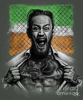 Conor McGregor by Andre Koekemoer