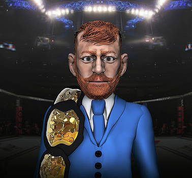 Conor McGregor Caricature by Michael Lenehan