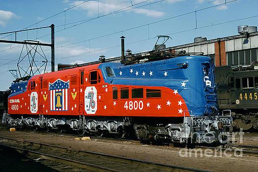 Conrail Bicentennial Livery, GG-1 Electric Locomotive, 4800 Patr by Wernher Krutein