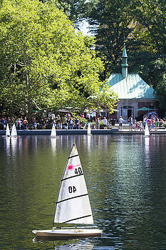 Silvia Bruno - Conservatory Water in Central Park