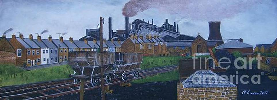 Consett Steelworks 70's  by Neal Crossan