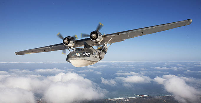 Consolidated PBY Catalina by Larry McManus
