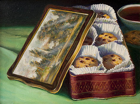 Constable Cookie Tin by Lydia Martin