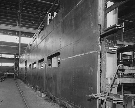 Chicago and North Western Historical Society - Construction of Bilevel Commuter Cars - 1959