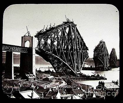 Peter Ogden - Construction of the Firth of Forth Railroad Bridge 1880s