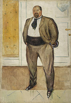 Consul Christen by Edvard Munch