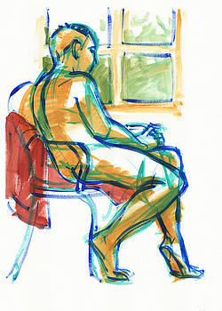Judith Kunzle - Contemplating