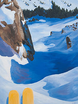 Contemplating the Couloir by Julia Taylor