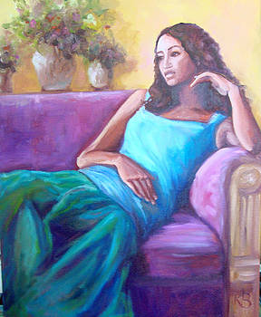 Contemplation by Kathy Brusnighan
