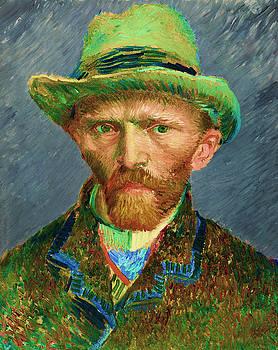 Contemporary 2 van Gogh by David Bridburg
