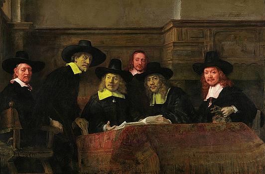Contemporary 3 Rembrandt by David Bridburg