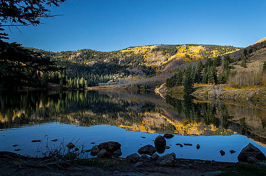 Contract Lake Fall Morning by Michael J Bauer
