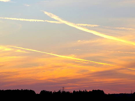 Chemical Sunset by Julie Pappas