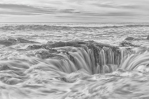 Contrasted Thor's Well by Russell Pugh