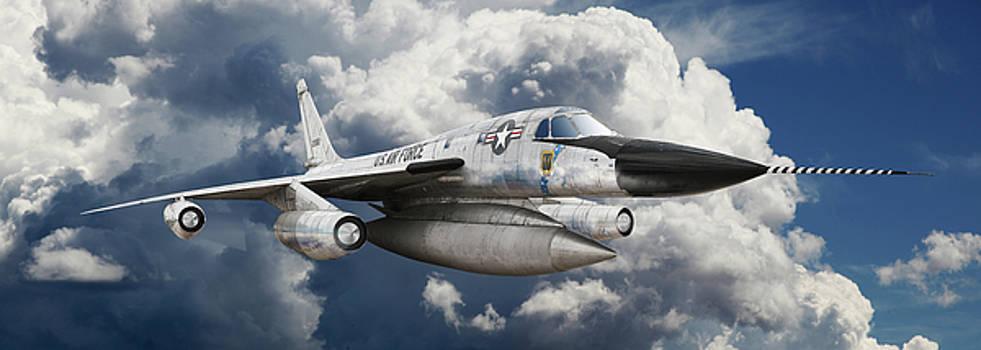 Convair B-58 Hustler by Larry McManus