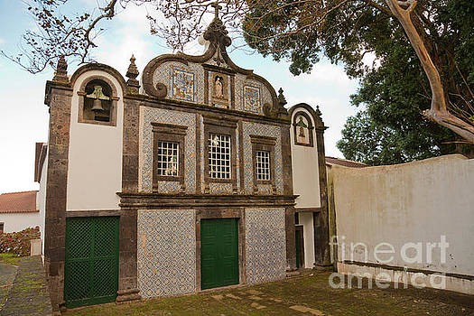Convent in Azores by Gaspar Avila