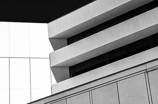 Converging Lines - Urban Abstracts by Steven Milner