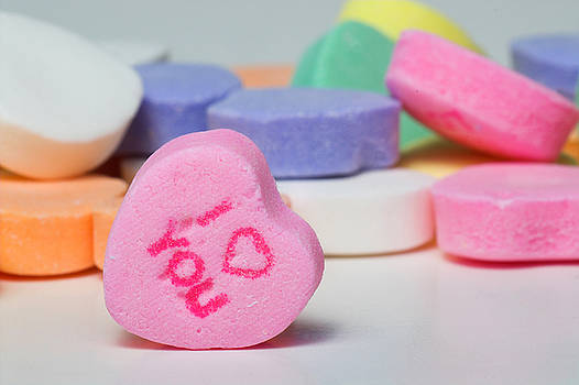Conversation Hearts by Rob Byron