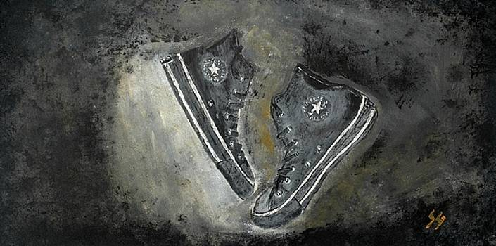Converse High Tops by Sara Gardner