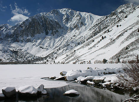 Convict Lake in Winter by Tom Kidd