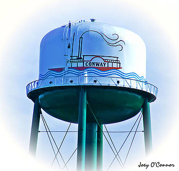 Conway Water Tower Top by Joey OConnor