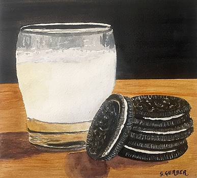 Cookies and Milk by Sharon Gerber