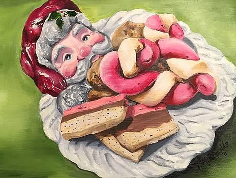 Cookies for Santa by Leslie McReynolds